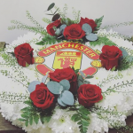 funeral flowers - football club - manchester united