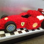 funeral flowers - f1 car