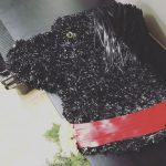 floral tribute for funeral dog