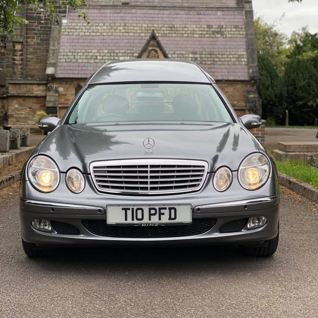 funeral cars in Burton upon Trent